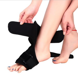 Plantar Fasciitis Dorsal Night Splint - AFO Orthotic Drop Foot Brace ~ Heel Pain Relief!