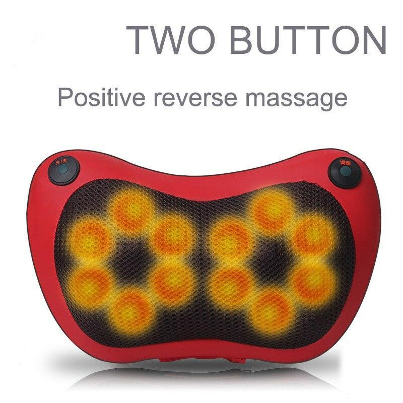 Neck, Shoulder and Leg Massager With Heat