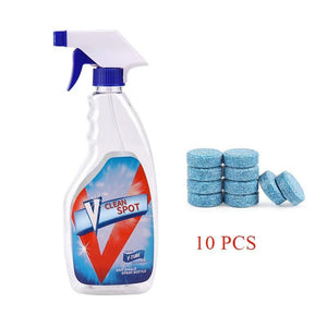 Multifunctional Effervescent Spray Cleaner, 1 Set