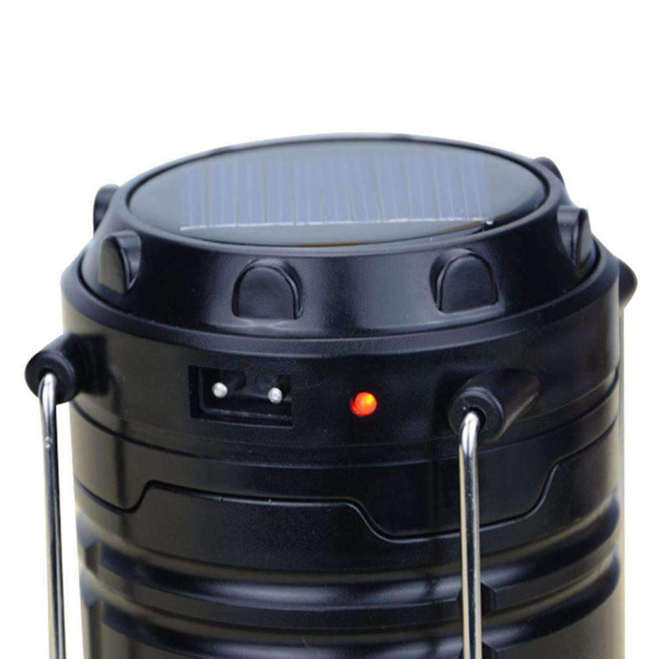 Rechargeable Lantern Solar Camping Lamp Outdoor