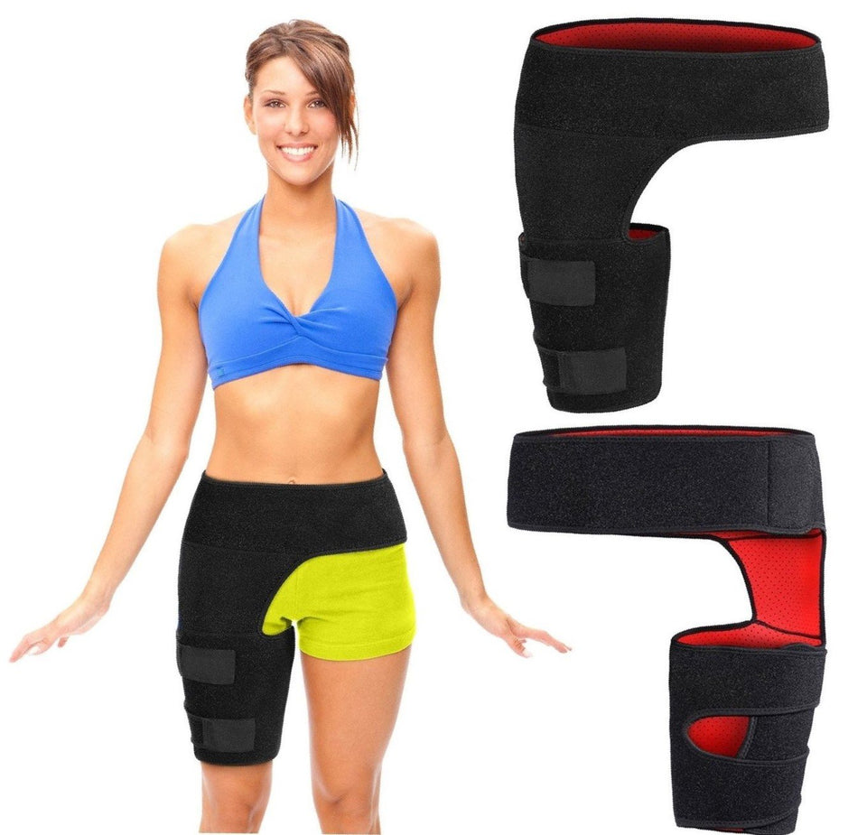 Women's Hip Flexor, Groin & Hamstring - Compression Support ~ Pain Relief!