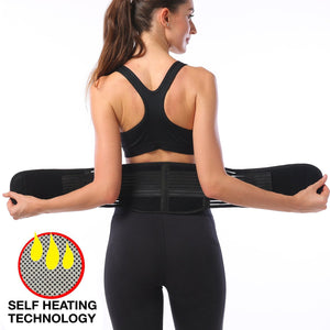 Women's Self Heating Magnetic Therapy Back Brace