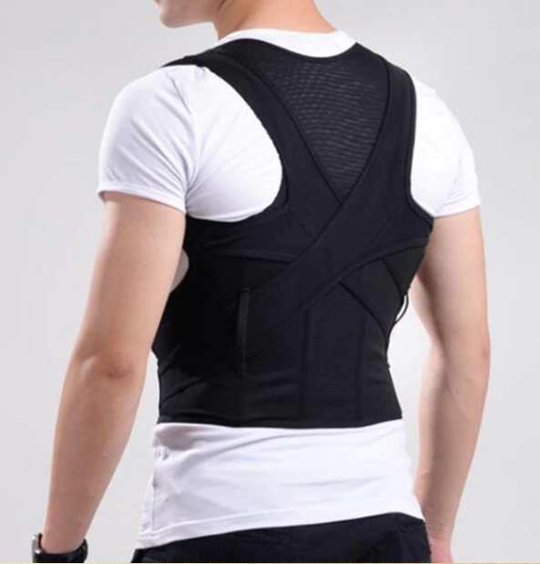Supportive Back Brace - Lower Back Support ~ Improve Posture!