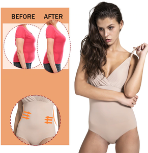 Slimming Bodysuit Shaper - With Easy Access Bathroom Gusset