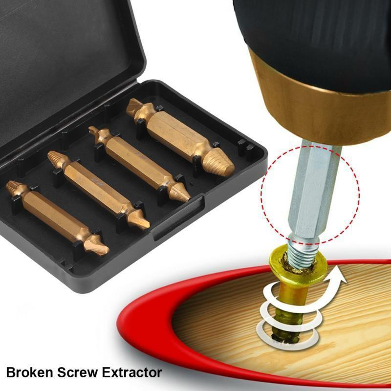 Damaged Screw Remover Extractor Kit
