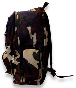Multiple Compartment Pocket Storage School Hiking