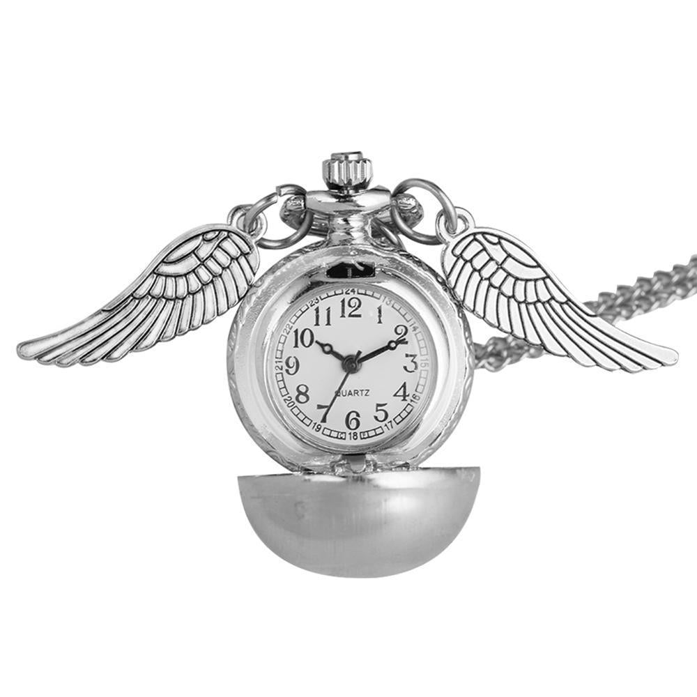 Wing Design Necklace Watches