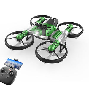 Folding Quadcopter Remote Control Helicopter & Motorcycle