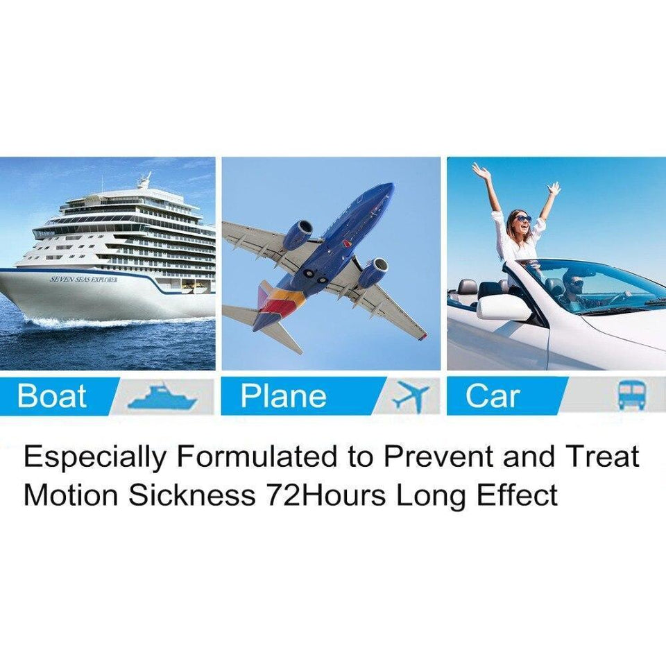 Motion Sickness Patch Topicals (10 pieces)
