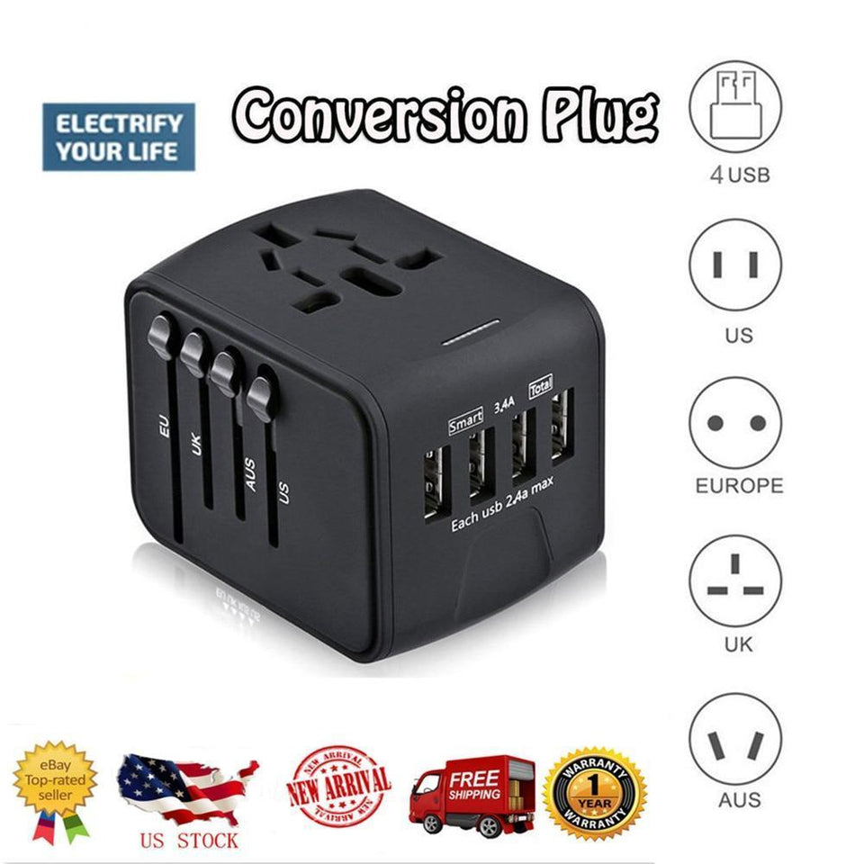 Universal Travel Charger Adapter