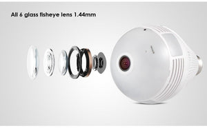CamBulb™ Camera Light Bulb Panoramic 360 Wifi CCTV Security Camera
