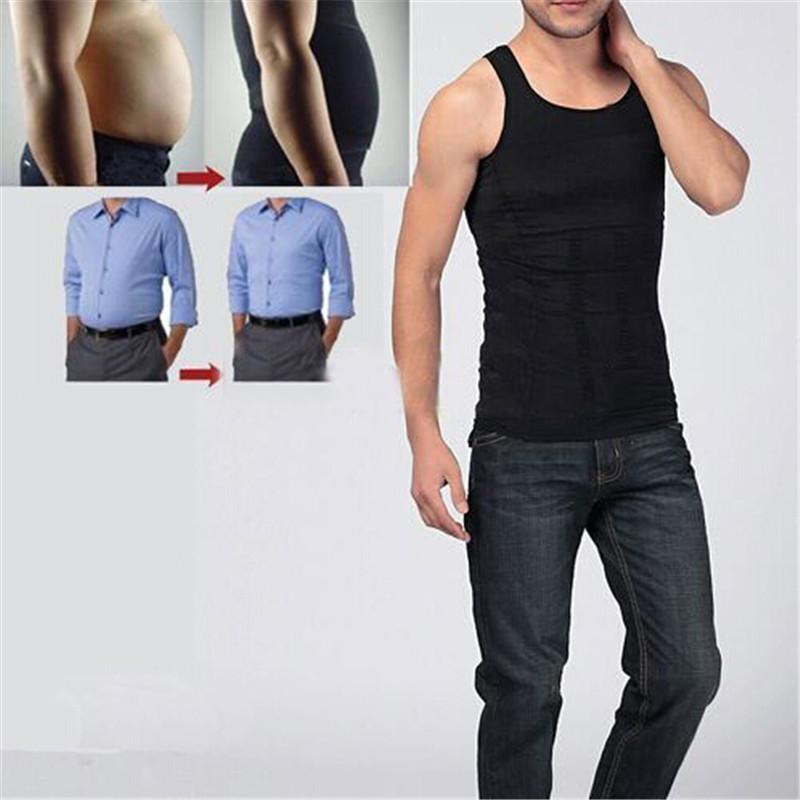 Men Slimming Vest Lost Weight Shirt - Corset Body Shaper Gym Clothing