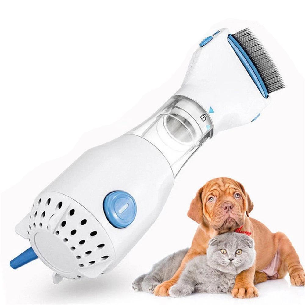 Lice Vacuum Comb Head Lice For Human, Dog & Cat Flea Remover
