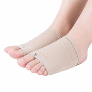Plantar Fasciitis Gel Infused Arch Support Cushioned Foot Sleeves