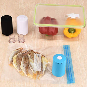 Automatic Compression Vacuum Sealer Mini Pump