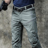 Breathable Slim Tactical Cargo Trousers
