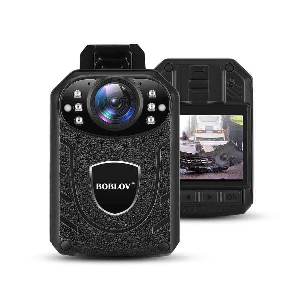 Boblov Ultra HD 1296P Professional Police Body Camera