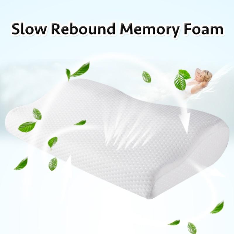 Orthopedic Sleeping Memory Foam Ergonomic Cervical Pillow