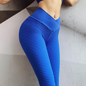 Diamond Textured Scrunch Booty Anti Cellulite Workout Leggings