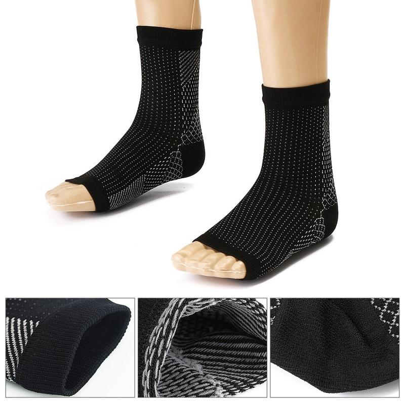 Sports Compression Foot Protect Pain Relief Hot Socks
