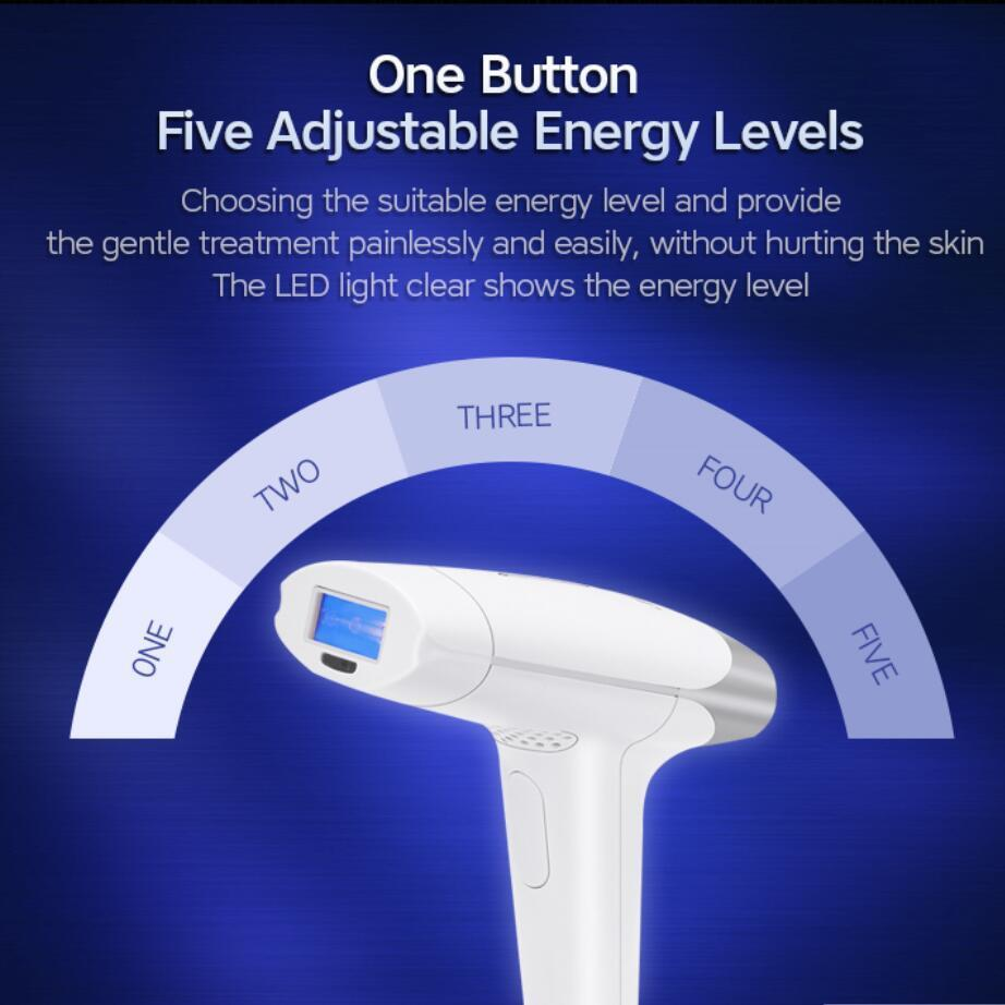 2019 3-in-1 IPL Laser Hair Removal Skin Rejuvenation Device