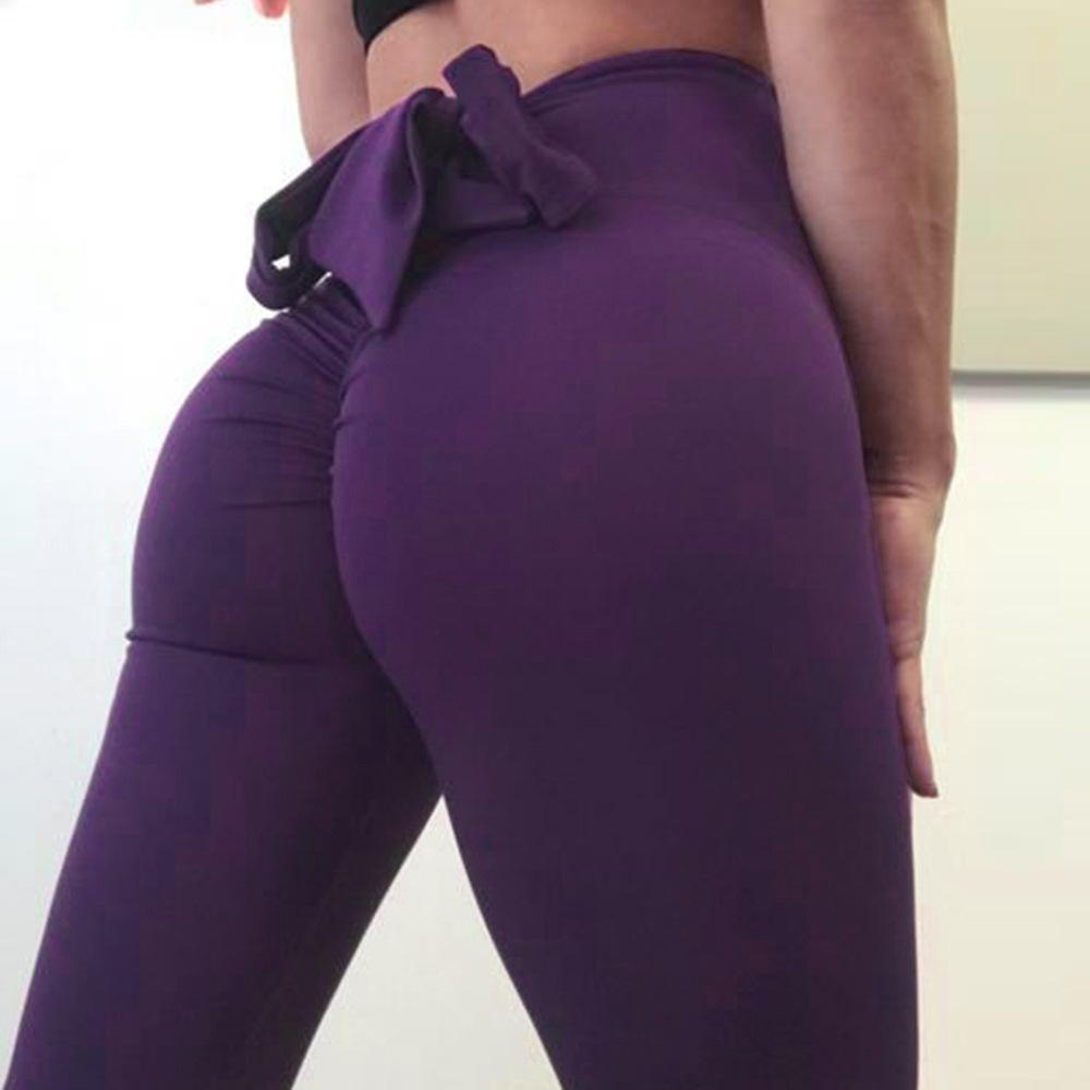 PureGem High Waist Booty Bow Push Up Leggings
