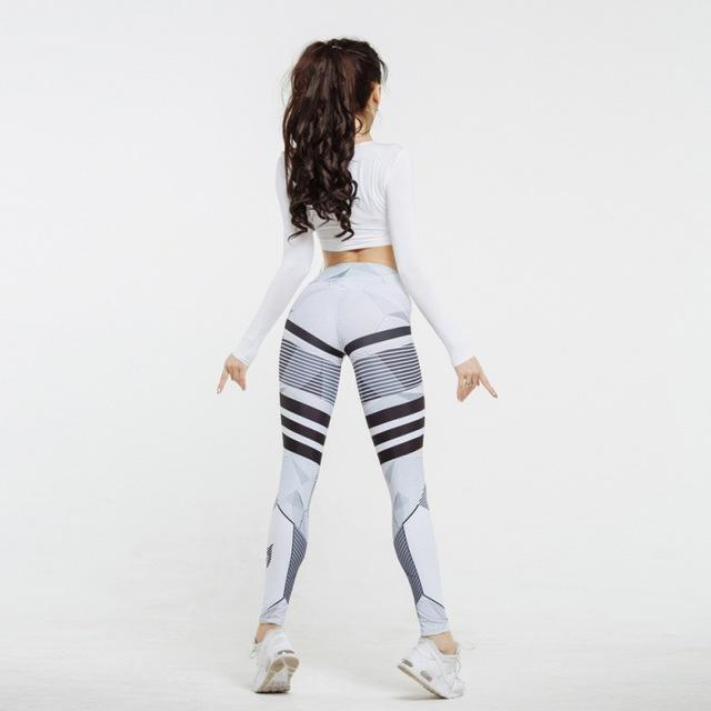 Hydra Mech Fit 3D Print Leggings