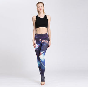Full Flower Print Leggings