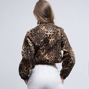 Leopard Print Fashion Jacket