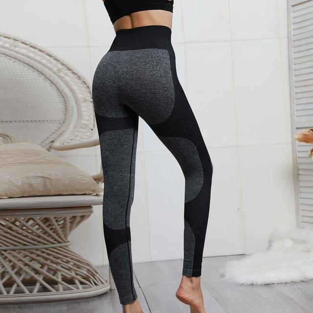 Seamless Heart Booty Push Up Workout leggings
