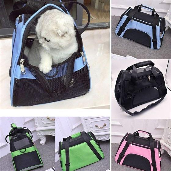 Airline Approved Portable Pet Backpack Cat Dog Carrier Purse