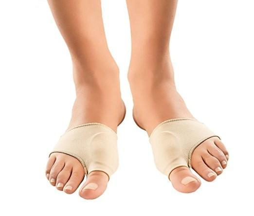 Bunion Gel Cushion Pads - Can Be Worn With Shoes ~ Pain Relief!
