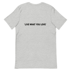 "BASSEL Collective "" Live What You Love "" - Unisex Comfy T-Shirt - BASSEL Collective"
