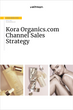 Kora Organics by Miranda Kerr channel sales strategy analysis PDF
