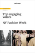 top influencers new york fashion week