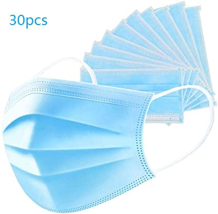 30pcs 3 Layer Protective Mask - DFW Medical Supplies LLC