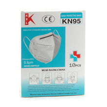 Load image into Gallery viewer, 50pcs KN95 Respiratory Face Mask Protective Gear