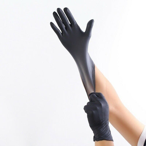 100 Pcs Disposable Medical Nitrile Gloves Latex Free - DFW Medical Supplies LLC