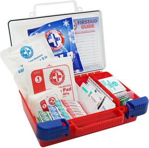Be Smart Get Prepared First Aid Kit - 180 Piece, (package may vary)