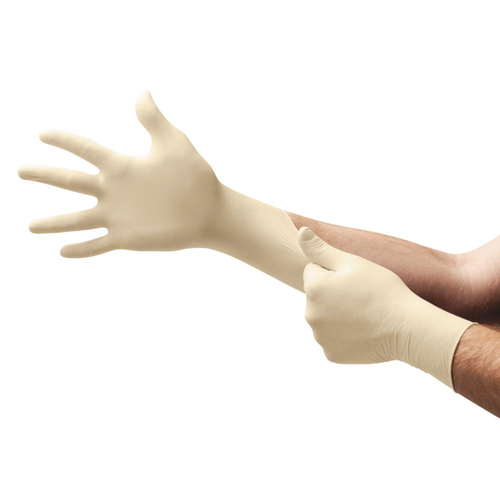 100pcs Premium Disposable Latex Gloves - DFW Medical Supplies LLC
