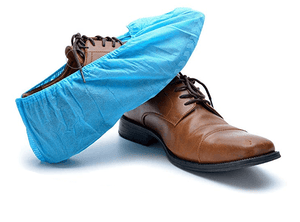 100 Pcs Disposable Waterproof Shoe Cover - DFW Medical Supplies LLC