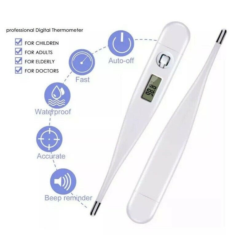 Digital LED Oral Electronic Thermometer - DFW Medical Supplies LLC