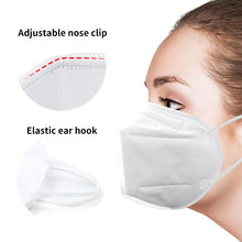Load image into Gallery viewer, 6pcs KN95 Respiratory Face Mask Protective Gear - DFW Medical Supplies LLC