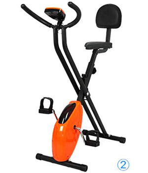 Adjustable Resistance Portable Fitness Stamina Exercise Bike for Home Cardio Workout with Digital Display YYW Indoor Stationary Adjustable Exercise Bike