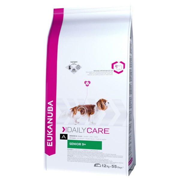 Eukanuba Senior Dry Dog Food Daily Care 9 Plus Kibble 12KG