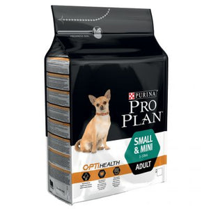 Pro Plan Adult Small Breed Mini Dog Dry Food OptiHealth Chicken