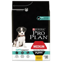 Pro Plan Puppy Medium Sensitive Digestion OptiDigest Dry Dog Food Chicken