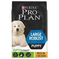 Purina Pro Plan Dry Puppy Food Large Robust OptiStart Chicken Rice Kibble