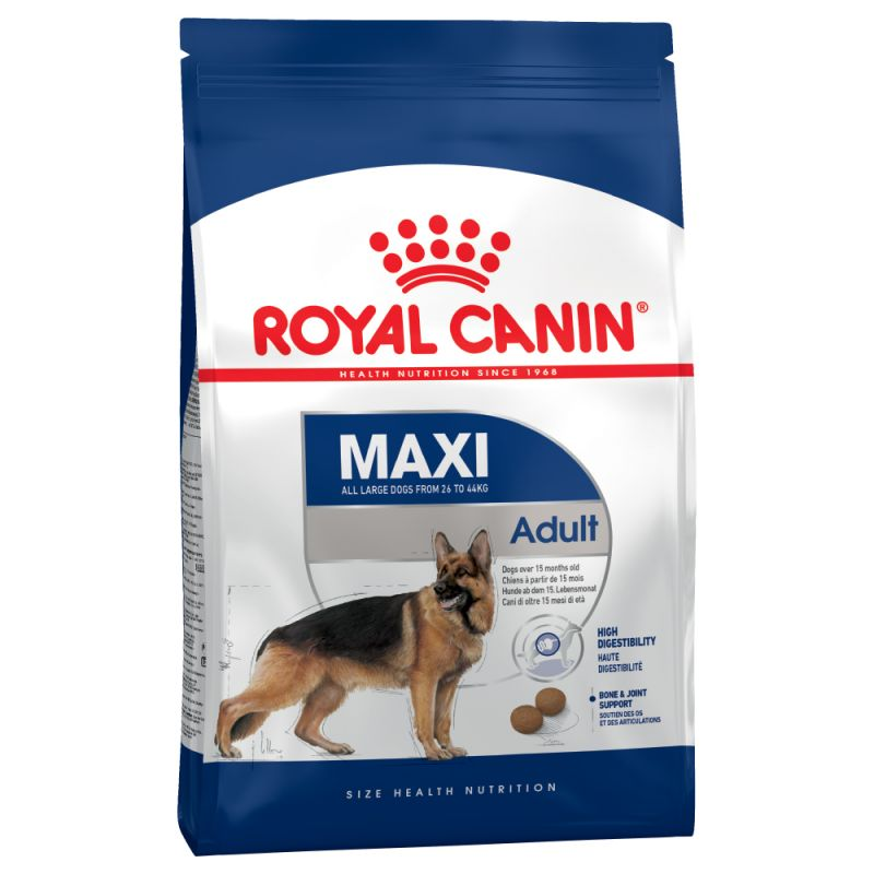 Royal Canin Maxi Large Breed Adult Dry Dog Food Immune System Joints 15kg