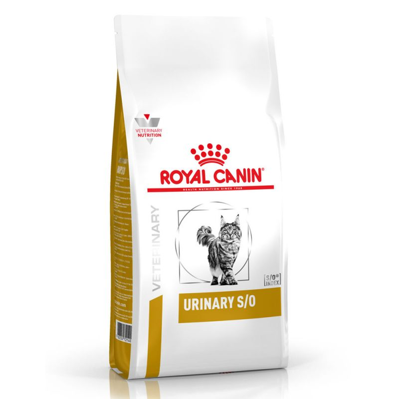 Royal Canin Urinary SO Cat Food Veterinary Diet Dry Kibble Feed